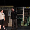 "Eric Bonzar — The Morning Journal <br> Sixteen-year-old Corrin Hickman of Amherst, and Devin Sugerik, 18, of Avon Lake will play the lead roles of Fiona and Shrek in the Lorain Palace Youth Theater's upcoming performance of ""Shrek the Musical Jr."" The group's 40th anniversary show is 7 p.m. July 21 and 22, and 2 p.m. July 23 at Lorain Palace Theater at 617 Broadway Ave. in Lorain. General admission tickets cost $10 at the door or online at www.lorainpalace.org."