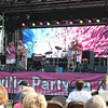Tawana Roberts — The News-Herald <br> Justo Saborit & Latin Soul perform at Painesville Party in the Park , July 14, 2017.