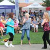 Tawana Roberts — The News-Herald <br> Patrons enjoy the festivities at Painesville Party in the Park, July 14, 2017.