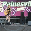 Tawana Roberts — The News-Herald <br> Erin Burke performs at Painesville Party in the Park , July 14, 2017.