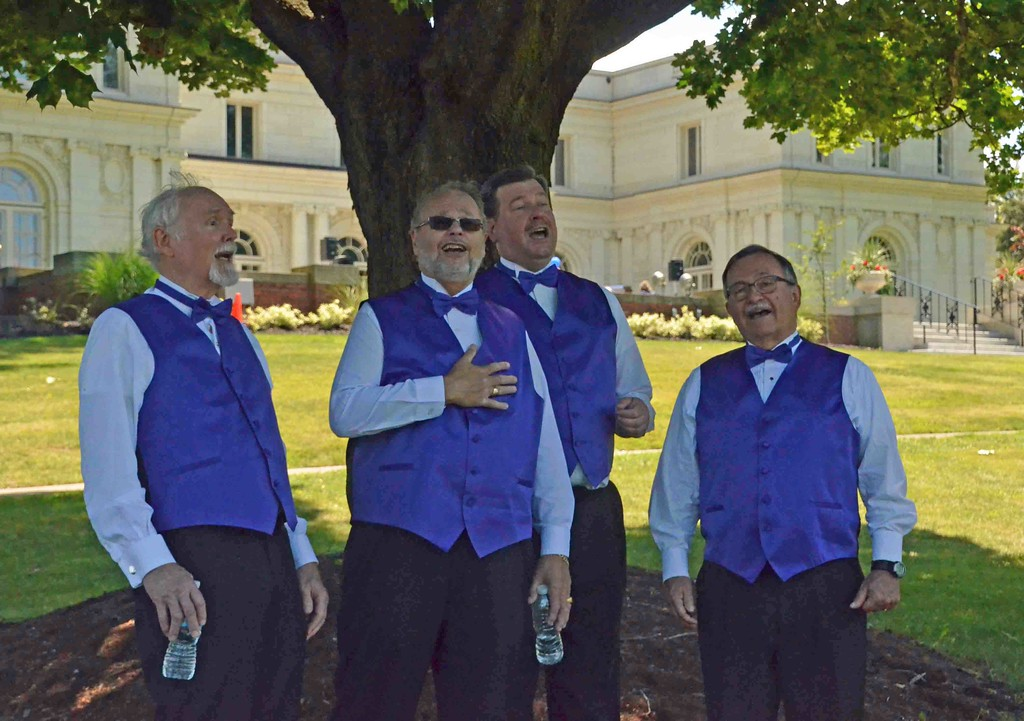 . Paul DiCicco � The News-Herald <br> Classic Pops Quartet, from the Singers Club of Cleveland serenaded audiences during the Wickliffe Bicentennial event on July 15, 2017.