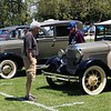 Tawana Roberts — The News-Herald <br> Mentor residents Roberta and Tom Perno enjoy the antique car show at the Wickliffe Bicentennial event on July 15, 2017.