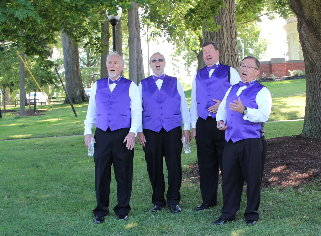 . Tawana Roberts � The News-Herald <br> Classic Pops Quartet, from the Singers Club of Cleveland serenaded audiences during the Wickliffe Bicentennial event on July 15, 2017.