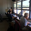 David S. Glasier - The News-Herald<br /> Operations booth, suite level