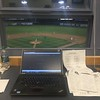David S. Glasier - The News-Herald<br /> Press box, vantage point for The News-Herald