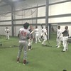 David S. Glasier - The News-Herald<br /> Batting cage field house, rain delay, space shared by Captains and Great Lakes (Mich.) Loons