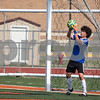 Sam Buckner for Shaw Media.<br /> Emrys Draper practices saves on Tuesday July 19, 2017 before a scrimmage against Sycamore.