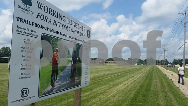 A project to connect Sycamore Middle School with Sycamore parks is planned to help give students a safer path to walk to school.