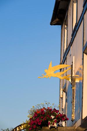 The Angel Pub by Thames River, Henley-on-thames, United Kingdom