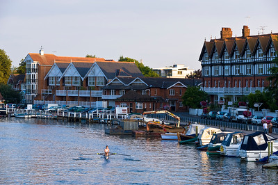Thames River, Henley-on-thames, United Kingdom