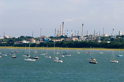 Yachts and boats in marina, Southampton, United Kingdom