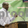 Sam Buckner for Shaw Media.<br /> Joe Mitchell, pastor at New Hope Missionary Baptist Church, speaks about how his church will be creating a community center on their property and how he wants to work with the city of Dekalb on future projects to make the Annie Glidden north neighborhood safer and more enjoyable to its residents on Tuesday July 25, 2017.
