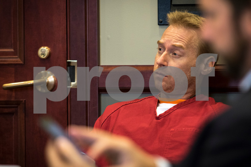 Sam Buckner for Shaw Media.<br /> Carl Russell who is accused of shooting a man in the head in Sandwich. Russell appeared in court on Wednesday July 26,  2017.