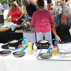 Tawana Roberts – The News-Herald <br> Chefs prepare meals using fresh and locally-sourced ingredients at the Downtown Painesville Organization farm-to-table event on July 26, 2017.
