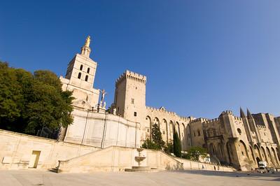 Europe, France, Provence, Avignon, Palais des Papes