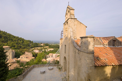 Europe, France, Provence, Gigondas, parish church