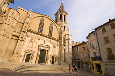 Europe, France, Provence, Carpentras, cathedral