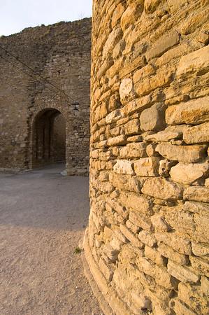 Europe, France, Provence, Venasque, chateau
