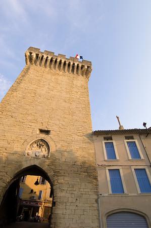 Europe, France, Provence, Carpentras, Porte de Orange