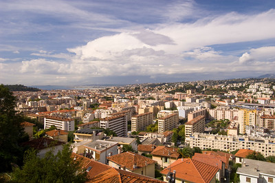 Europe, France, Provence, Nice , general panorama