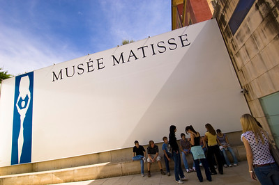 Europe, France, Provence, Nice , Matisse Museum
