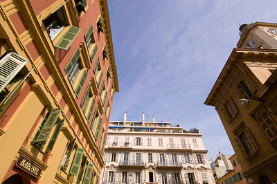 Europe, France, Provence, Nice , street scene and architecture