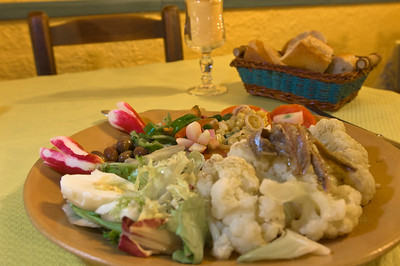 """Europe, France, Provence, Utelle, """"Auberge Utelloise"""" restaurant"""