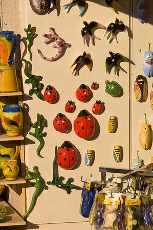 Europe, France, Provence, Moustiers-Ste-Marie, souvenir shop
