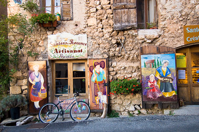 Europe, France, Provence, Aiguines, shop