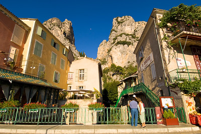 Europe, France, Provence, Moustiers-Ste-Marie