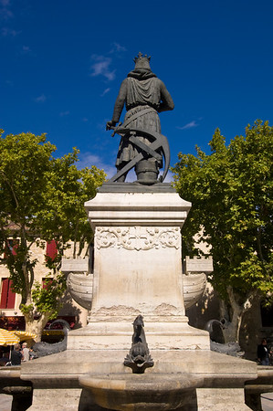 Europe, France, Provence, Camargue, Aigues-Mortes, Place St. Louis