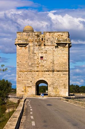 Europe, France, Provence, Camargue, Tour Carbonniere near Aigues-Mortes