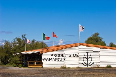 Europe, France, Provence, Camargue,  wayside shop selling local produce