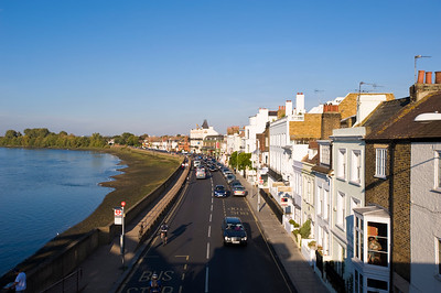 Barnes riverside, SW13, Thames River, London, United Kingdom