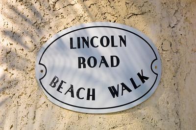 United States Of America, Florida, Miami, South Beach, Lummus Park, sign