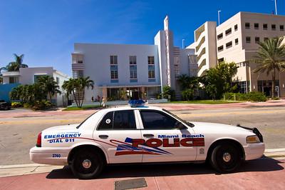 United States Of America, Florida, Miami, South Beach, Art Deco District, Collins Avenue