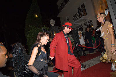 United States Of America, Florida, Miami Beach, Ocean Drive, guests arriving to a party at Versace Mansion