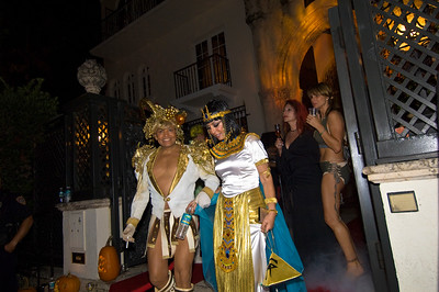 United States Of America, Florida, Miami Beach, South Beach, Ocean Drive, guests arrivint to a party at Versace Mansion