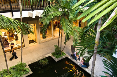 United States Of America, Florida, Miami, Bal Harbour Shopping Mall