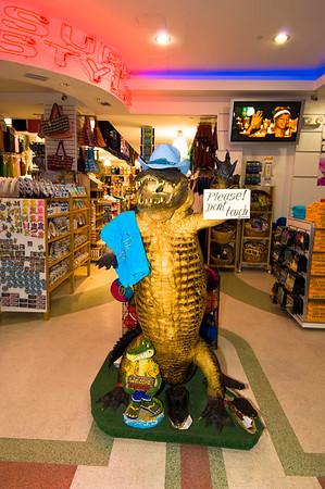 United States Of America, Florida, Miami Beach, South Beach, Ocean Drive, souvenir shop