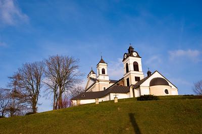 Church in Ozarow, Swietokrzyskie region, Poland