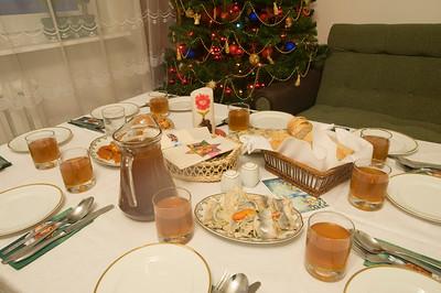 Family Christmas in Starachowice, Poland