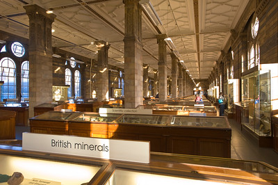 Minerals Room, Natural History Museum, London, United Kingdom