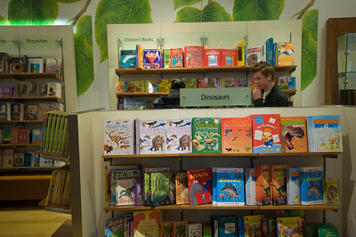 Bookshop at Natural History Museum, London, United Kingdom