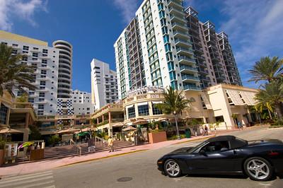 New development on Ocean Drive, Art Deco District, Miami, South Beach, Gold Coast, Florida, United States of America