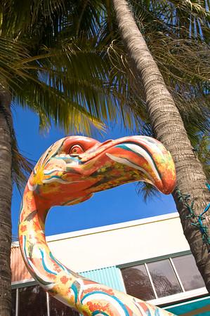 Art Deco architecture on Ocean Drive, South Beach, Miami, USA