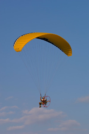 Fort Lauderdale, motor glider above beach, Gold Coast, Florida, United States of America