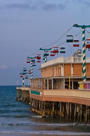 Pier at Daytona Beach, Gold Coast, Florida, United States of America