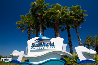 Seaworld theme park, Orlando, Florida, United States of America
