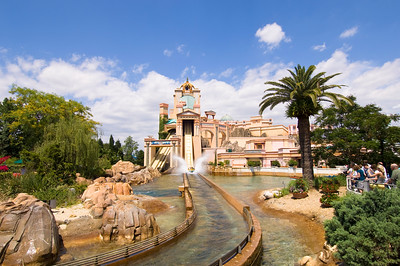 Journey to Atlantis, Seaworld theme park, Orlando, Florida, United States of America